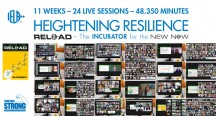 IELA Reload: 11 weeks, 24 live sessions, 48.350 minutes heightening resilience